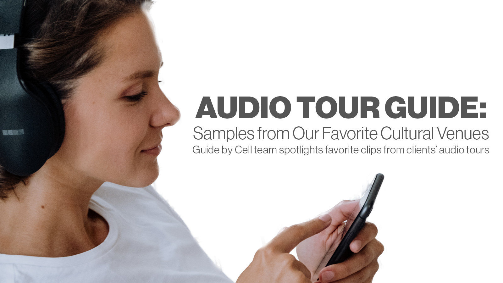 audio tour and audio guide